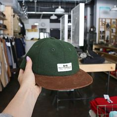 New wool 5 and 6 Panel Caps are in the store.  #CanadianMade