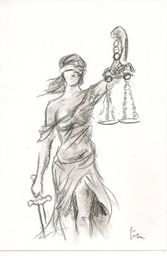 Lady Justice by Lize-Desmaricaux More
