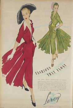 1949 Fashions 1940s Vintage Dresses, Disney Characters, Fictional Characters, Disney Princess, Art, Fashion, Art Background, Moda, La Mode