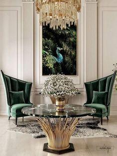 Home Interior Modern .Home Interior Modern Interior Modern, Luxury Interior Design, Interior Architecture, Color Interior, Interior Office, Interior Livingroom, Interior Paint, Neoclassical Interior Design, Italian Interior Design