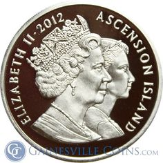 2012 Ascension Islands 2 oz High Relief Silver Diamond Jubilee http://www.gainesvillecoins.com/category/293/silver.aspx