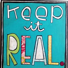 Keep it real. Mixed media art by Things with Wings Mixed Media Artwork, Keep It Real, Cute Puppies, Original Artwork, Wings, Instagram Posts, Crafts, Design, Stay True
