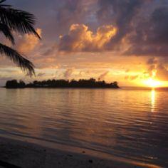 Paradise on Earth; Muri Beach, Rarotonga, Cook Islands