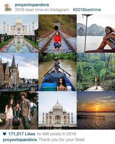 Más de 170.000 gracias!!! Ganas de superarnos este nuevo año! Nos vemos en 2017!!! #bestnine2016 #travel #traveling #viaje #viajar #wanderlust #couple #findeaño #feliz2017 #felizaño #love #amor #picoftheday #instatravel #travelgram #amazing #spain #españa #nochevieja #31