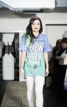We Are The New Breed - Platypus Streetwear on the catwalk at Rough Trade for Notts Indie Fashion Week  #nifw #fashionweek #streetwear #dipdye #platypus #streetstyle #fashion
