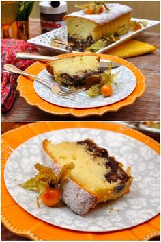 Bolo Frape de Nutella, Bolo frape marmorizado, no formato charmoso da forma do Bolo Inglês um encanto só de ver e irresistível de comer!