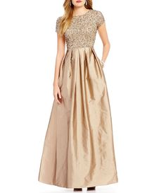 Shop for Adrianna Papell Beaded Bodice Cap Sleeve Gown at Dillards.com. Visit Dillards.com to find clothing, accessories, shoes, cosmetics & more. The Style of Your Life.