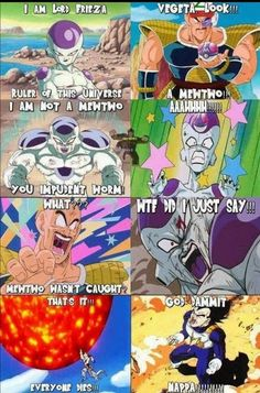 LOL. Dragon ball z abridged XD