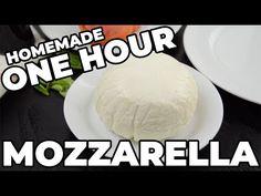 One Hour Mozzarella Cheese Cuban Recipes, Indian Food Recipes, Italian Recipes, Cheese Recipes, Appetizer Recipes, Cooking Recipes, Appetizers, Make Mozzarella Cheese, Slow Cooker Bread