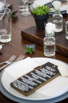 Clean, modern table design