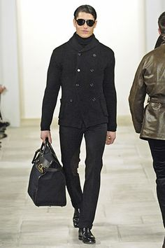 Ralph Lauren's 2006 collection. I would definitely still rock this. No doubt. That jacket is sharp.