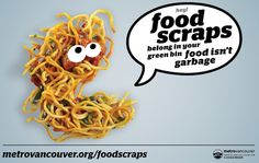 campaign environment Metro Vancouver hopes to boost compost rates with new ad campaign Green Bin, Greens Recipe, Food Waste, Vancouver, Environment, Ethnic Recipes, Food Project, Zero Waste, Sustainability