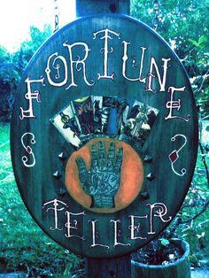 fortune teller prop ideas | Only 14 Days til' Halloween....
