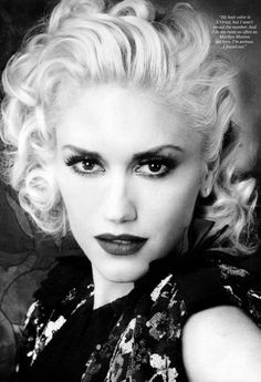 """Gwen Stefani - """"Being a singer is all about me. About ego. Being a mom is all about being selfless - two different worlds."""""""