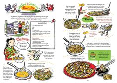 Do graphic cookbooks, illustrated like comic books, work for readers? - The Washington Post