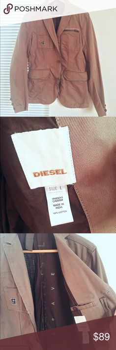 Diesel men's jacket sz L Diesel men's jackets in size L. Only wore couple times. Very versatile and super stylish. No flaws, like new. Diesel Jackets & Coats