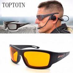 ce0dae0b669 Bulletproof military lenses sunglasses Lens hunting anti-UV sunglasses  sports sunglasses outdoors to protect the game