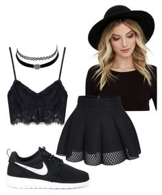 """""""Summer"""" by jstoffx on Polyvore featuring NIKE, RHYTHM and Charlotte Russe"""