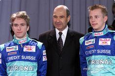 Nick Heidfeld, Peter Sauber, Kimi Raikkonen