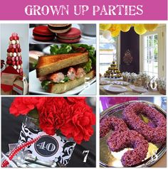 Adult Birthday Party Themes