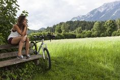 Hotel Kaiser in Tirol // Wilder Kaiser // Scheffau // Mountainbiking // Vital aktiv // Aktiv Urlaub // Urlaub mit Kindern Wilder Kaiser, Das Hotel, Aktiv, Mount Rainier, Hiking, Mountains, Nature, Travel, Family Vacations