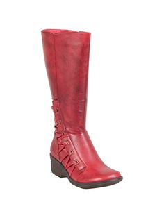 Miz Mooz Orson Leather Wedge Boot | Official Site