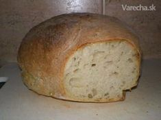 Zemiakový chlieb - My site Bread And Pastries, 4 Ingredients, Bread Recipes, Ham, Recipies, Food And Drink, Pizza, Sweets, Lunch