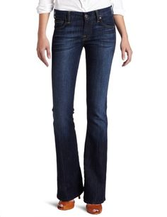 800dd5b250265 7 For All Mankind Women's A Pocket Bootcut Jean in Nouveau New York Dark  Jeans Price