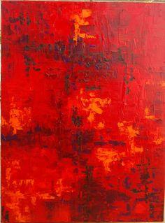 Abstrakte Malerei Original Kunst Öl Extra groß von OriginalArtbyJen
