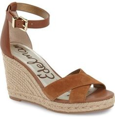 Sam Edelman 'Brenda' Espadrille Wedge Sandal (Women) #wedge