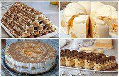 Najlepšie dezerty s piškótami - rýchle a vynikajúce! Ice Cream Candy, Cake Cookies, No Bake Cake, Tiramisu, Cereal, Pie, Breakfast, Ethnic Recipes, Cakes