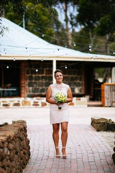 Ivory Tribe real wedding - Erin and Andrew, Bannockburn VIC