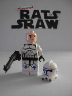 Lego Star Wars minifigures - Clone Custom Trooper Tup - 501st
