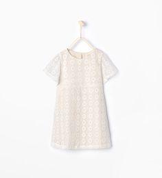 Imagen 1 de Vestido crochet de Zara