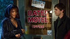 The fifth season of A&E's Psycho spin-off Bates Motel begins February 20, and its storyline is finally getting into canon we all know, love, and are terrified by: Norma Bates (Vera Farmiga) is but a stuffed corpse while Norman Bates (Freddie Highmore) is spiraling deeper and deeper into his delusions. Most canonically, this season we'll get to the famous shower scene that made Hitchcock's original one of the scariest horror films ever made, when Marion Crane finally checks into a room...