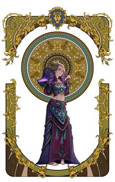 wow fan art page 2-5 by Angju.deviantart.com on @deviantART