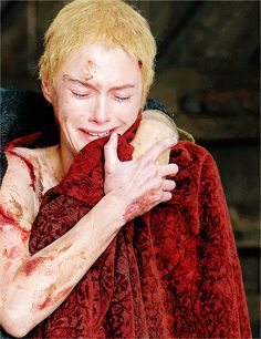 Lena Headey as Cersei Lannister (season 5, episode 10: Mother's Mercy)