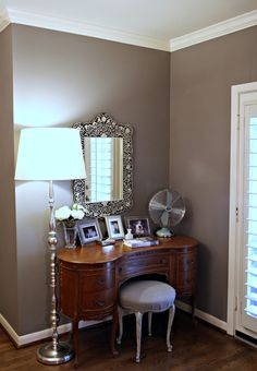 This is the color! restoration hardware slate  paint color...LOVE this wall color. Going in my living room. Excited!!
