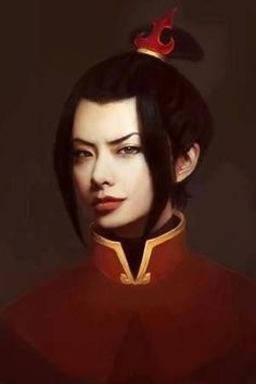 Princess Azula of the Fire Nation. It really, really looks like her. almost creepy