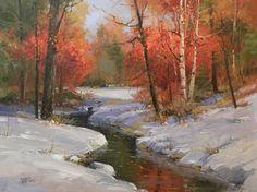 'Early Snow' by David Jackson