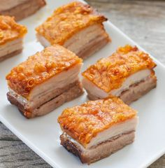 Crispy Golden Pork Belly | Kirbie's Cravings | A San Diego food & travel blog