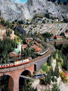 Model Trains:  #ModelRRAcademy