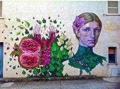 Caktus & Maria - Italian Street Artist - Sadali (IT) - 06/2015 -  \*/  #caktus&Maria #streetart #italy