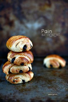 PANEDOLCEALCIOCCOLATO: Pain au chocolat