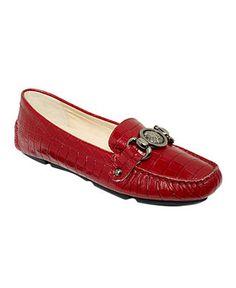 Anne Klein Shoes, Yalie Moc Flats - Shoes - Macy's