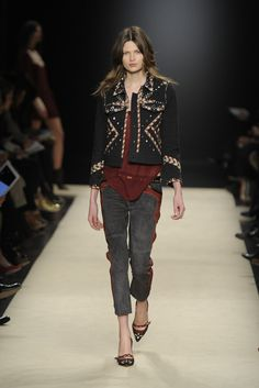 Isabel Marant --- oh hey, cowgirl rock 'n roll! Right on!
