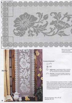 Мода и модель 5-2009 - вязание крючком 007