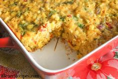 Want a sweet and spicy side dish? This delicious Tex-Mex Corn Casserole is a real crowd-pleaser and comes together easily. Corn Pudding Casserole, Casserole Recipes, Cornbread Casserole, Hamburger Casserole, I Heart Recipes, Corn Recipes, Side Recipes, Mexican Recipes, Yummy Recipes