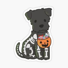 High quality Schnauzer gifts and merchandise. Inspired designs on t-shirts, posters, stickers, home decor, and more by independent artists and designers from around the world. Kawaii Halloween, Halloween 2020, Halloween Tumblr, Anime Halloween, Halloween Books, Tumblr Stickers, Cute Stickers, Phone Stickers, Printable Stickers