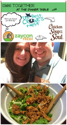 Sweet Chipotle Bourbon BBQ Chopped Salad Recipe & Partnership with Zaycon Fresh & Chicken Soup for the Soul | Coming Together at the Dinner Table